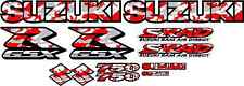GSXR750 Fairing Decal Stickers 750 Red Camo Decals graphics Sticker Srad gsxr