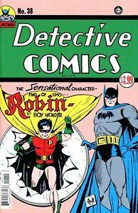 Detective Comics #38 (Facsimile Edition / 1st Robin / 1940  / NM)