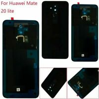 Replacement For Huawei Mate 20 lite Back Battery Cover Fingerprint Glass Cases