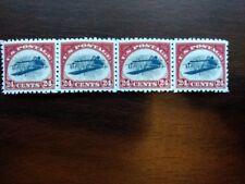 (4) FOUR REPRO US StampINVERTED JENNY 24 cent c3Blank Back & GUMMED FREE SHIP