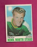1970-71 OPC # 43 NORTH STARS TOM REID ROOKIE GOOD CARD  (INV# 9254)