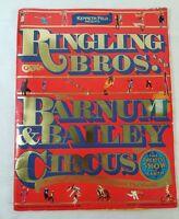 1987 Ringling Bros and Barnum & Bailey Circus 116th Edition Program