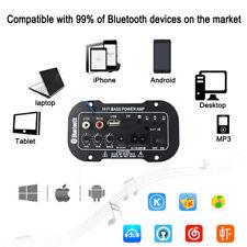 50W Car Bluetooth Subwoofer Hi-Fi Bass Amplifier Board Audio TF USB 220V NEWEST