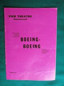 1967 Theatre Programme -Beoing Boeing - with Dave King Pier Theatre, Bournemouth
