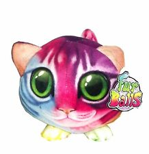 Fur Balls Rainbow Colored Cat Plush 4 inches #390206