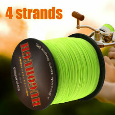 Multifilament Spectra Braided 4 Strands PE Sea Testing Fishing Lines 100-1000m