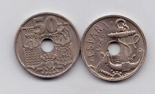 ESPAÑA ↓↓ FLECHAS INVERTIDAS   1949  50 CENTIMOS *51  FRANCO  NI  AUNC