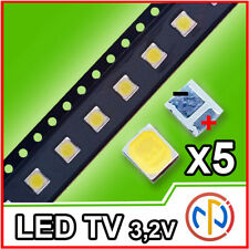 5X LED RETROILLUMINAZIONE TV 1W 3,2V 3528 ALTA QUALITA'
