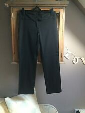 Next straight black taylored trousers UK 10P