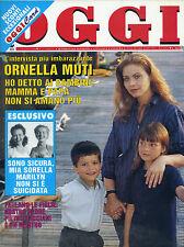 OGGI N°23/ 13/GIU/1994 * ORNELLA MUTI * LE FIGLIE : PIETRO PACCIANI E' UN MOSTRO