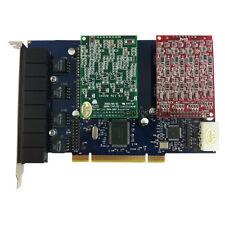 TDM800P 4FXO 4FXS  Asterisk card  PCI Analog card for trixbox freepbx voip pbx