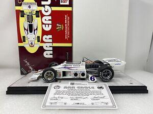 1/18 Carousel 1 1972 Olsonite Eagle Indy 500 Pole Win Bobby Unser # 4706 RARE