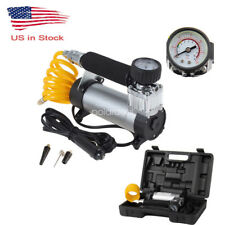 Heavy Duty Portable 12v Air Compressor 100psi Car Van Tyre Tire Inflator Pump