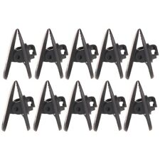 10pc Headphone Earphone Cable Cord Wire Collar Lapel Clip Nip Clamp Mount Holder