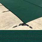 Meyco 30 x 60 Rectangle MeycoLite Mesh Green Safety Pool Cover
