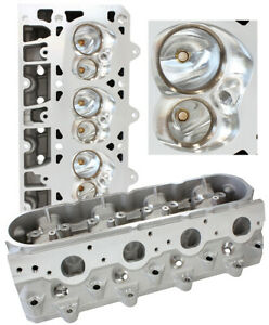 Aeroflow LS3 Bare CNC Ported 276cc Aluminium Cylinder Heads with 70cc Chamber