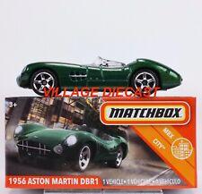 2020 Matchbox Power Grabs #73 1956 Aston Martin DBR1 GREEN METALLIC / MIB