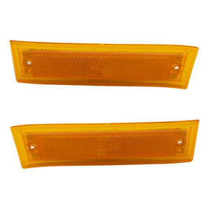 Pair Set Side Marker Lights for Chevy GMC Pickup Truck Blazer Jimmy Suburban