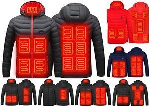 Winter Jackets Elektrisch Heated Hunting Clothing Ski Outerwear USB