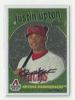 2008 Heritage Arizona Diamondbacks CHROME Justin Upton  C10  # /1959