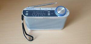 Roberts Portable Radio LW MW FM Compact Radio Battery or Mains 3 Waveband Radio