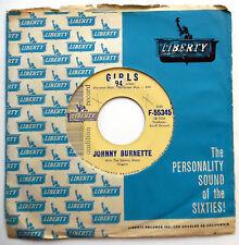 JOHNNY BURNETTE 45 Girls  I've Got A Lot Of Things To Do PROMO Teen BOPPER w6259
