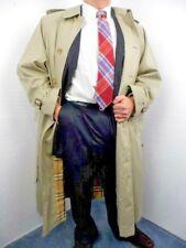 Burberrys' of London Helmsley Khaki Trench coat Men's 52 Reg Made in England EUC
