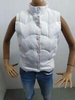 Giubbino Smanicato LEVIS DONNA taglia size S jacket woman bianco giromanica 5274