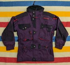 VTG 90s Spyder Tommy Moe Multi Utility Pocketed Purple Ski Tech Jacket [Small]