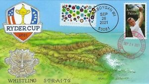 Peterman Sports Plus #20 Golfing at Whistling Straits Ryder Cup 2021 Event Cover