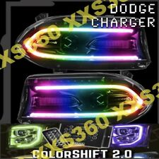 ORACLE Dodge Charger 2015-2019 Headlight DRL DRLs Upgrade Kit COLORSHIFT 2.0