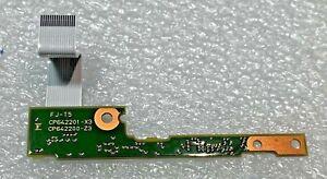"""☆ Original Fujitsu Lifebook E734 13.3"""" frontal led module CP642201-X3 CP642200-Z"""