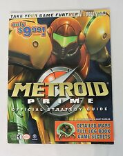 Metroid Prime BradyGames Official Strategy Guide Nintendo GameCube