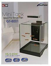 Nano Aquarium Cube Garnelen Shrimp Set m Innenfilter u  Beleuchtung 10 L GT 8001