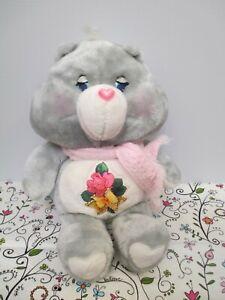 Care Bears Plush Stuffed Grams Bear by Kenner, American Greetings, 1983