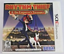 Rhythm Thief & Emperor's Treasure Nintendo 3DS Video Game Complete in Box