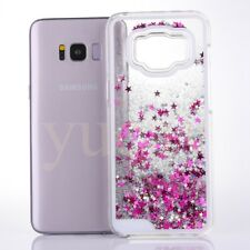 Protective Glitter Liquid Floating Bling Sparkle Bumper Case For Samsung S7 S8+