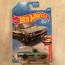Hot Wheels 2018 - Datsun 620 Pickup Truck Green