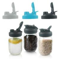 Canning Lids Flip Lids With Leak-Proof Seal For Wide New Mason Mouth Jars Q2N7
