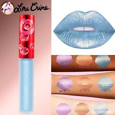 Lime Crime MERMAID GROTTO Velvetine Liquid Lipstick Metallic Blue PREORDER