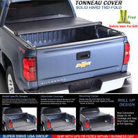 Fits For 2004-2020 Ford F-150 Lock Soft Roll Up Tonneau Cover 5.5ft Short Bed
