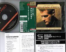 GLENN FREY The Best Of JAPAN SHM-CD UICY-90845 w/OBI+INSERT Crack on case FreeSH