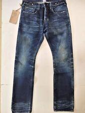 PRPS Japan Men Jeans P77P23P Demon Chip Dark DRK size 36 NWT