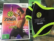 Zumba Fitness Wii with belt