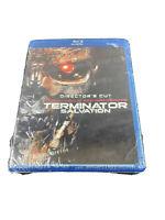 Terminator Salvation (Blu-ray Disc, 2009, 2-Disc Set, Directors Cut) NEW SEALED