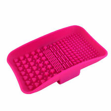 Square Silicone Makeup Brush Cleaner Pad Washing Scrubber Board Cleaning Mat