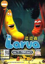 Larva TV 1 - 104 End DVD Anime & Animatin Movie  ALL Region Box Set