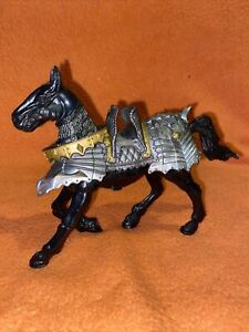 Chap Mei Fantasy Medieval Knights Black Horse Action Figure Armour