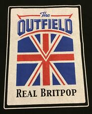 The Outfield Real Britpop 2001 Tour Vintage T Shirt XL Extra Large Graphic Tee