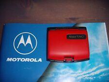 BATTERIA MOTOROLA STARTAC RAINBOW COLORE RED PRODOTTO NUOVO GIACENZA MAGAZZINO
